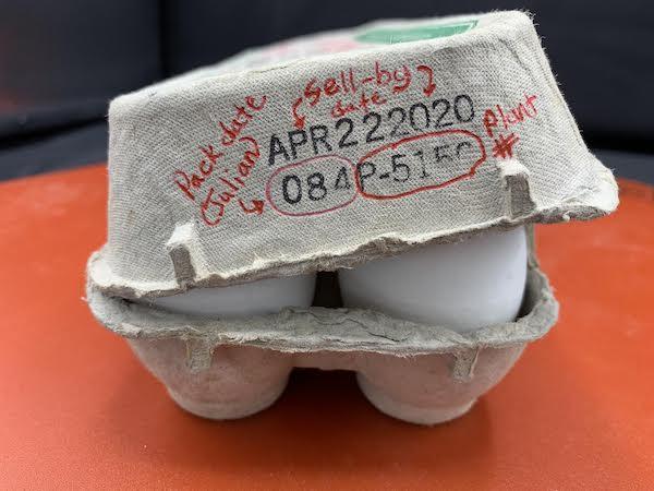 Quelle est la durée de conservation des œufs?