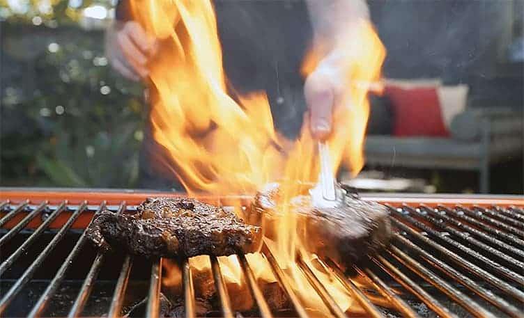 Quelle est la température d'un barbecue?